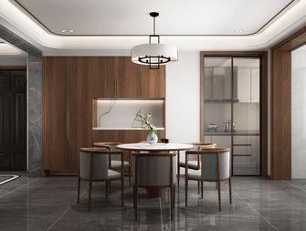 140平米三室两厅中式风格餐厅装修案例