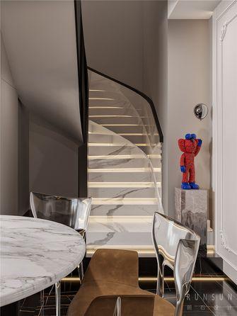 140平米复式混搭风格楼梯间欣赏图