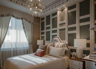 80平米三室三厅英伦风格卧室装修案例