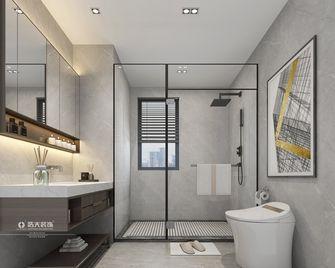 130平米四室两厅现代简约风格卫生间图片大全