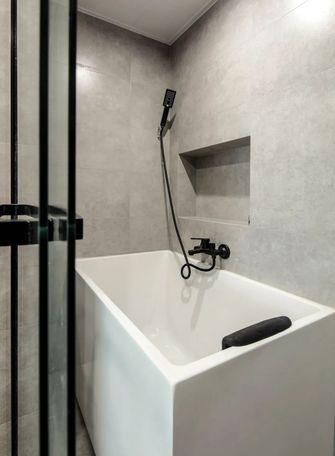80平米三室两厅日式风格卫生间装修案例