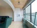 120平米三室两厅法式风格阳台欣赏图