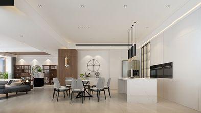 140平米四室三厅现代简约风格餐厅图片