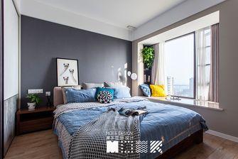 15-20万80平米三室一厅北欧风格卧室设计图
