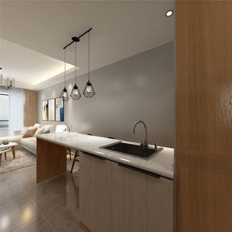50平米现代简约风格厨房图片大全