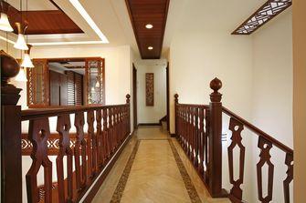 110平米三室一厅东南亚风格走廊图