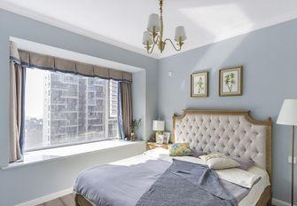 富裕型70平米田园风格卧室装修图片大全
