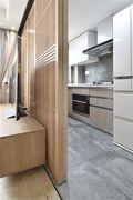 80平米三室一厅北欧风格厨房图片大全