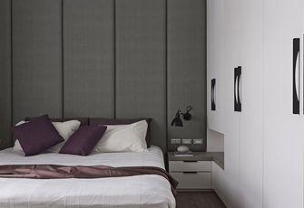 80平米现代简约风格卧室橱柜图
