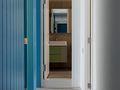80平米三室一厅田园风格走廊图