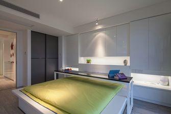 90平米复式混搭风格卧室装修图片大全