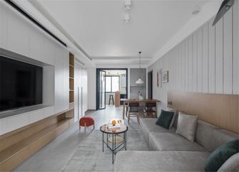 140平米三室两厅日式风格客厅图