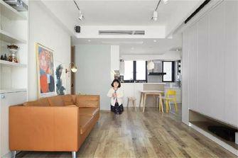 100平米三北欧风格客厅设计图