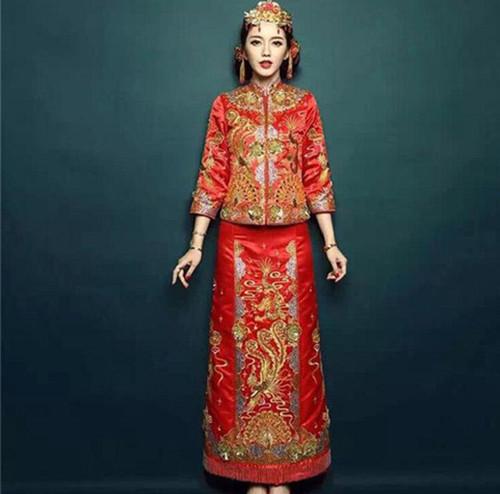 中式婚纱礼服之旗袍挑选攻略