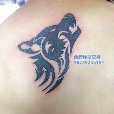狼图腾纹身图