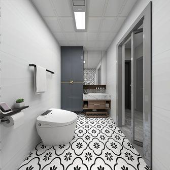 120平米四室一厅中式风格卫生间图