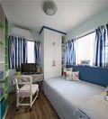 60平米公寓田园风格卧室图片