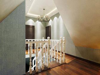 140平米四室两厅田园风格楼梯间装修案例