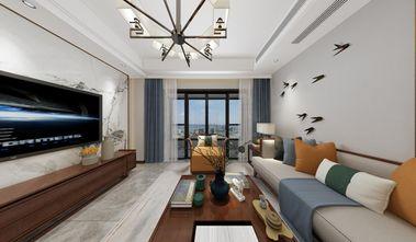 90平米四中式风格客厅装修效果图