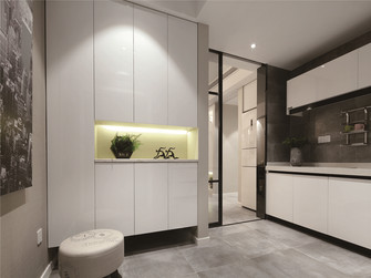 120平米三室一厅宜家风格衣帽间欣赏图