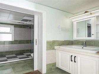 80平米三室一厅田园风格厨房装修图片大全
