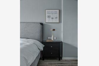 5-10万110平米一室两厅田园风格卧室装修案例