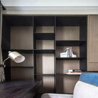 130平米三室两厅混搭风格书房图片
