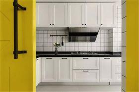 90平米北欧风格厨房图