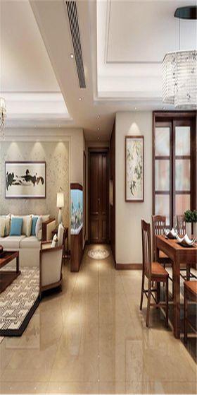 140平米中式風格客廳設計圖