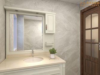 140平米三室两厅欧式风格卫生间装修案例
