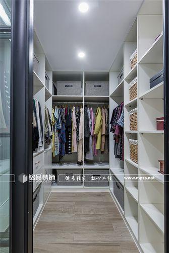 140平米三室两厅美式风格衣帽间设计图