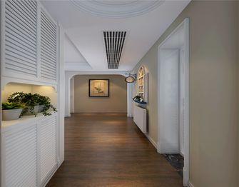 130平米三室一厅田园风格玄关图片