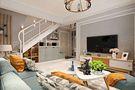 90平米公寓田园风格客厅装修效果图
