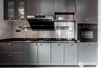 110平米三室一厅中式风格厨房装修图片大全