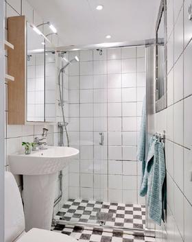 120平米四室兩廳現代簡約風格衛生間圖片大全