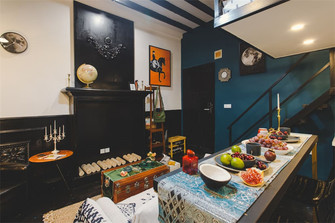 30平米小户型新古典风格客厅效果图
