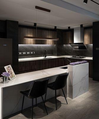 110平米一室两厅现代简约风格厨房装修效果图