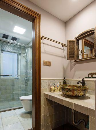 110平米美式风格卫生间装修图片大全
