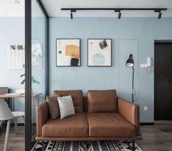 50平米一室两厅北欧风格客厅图片