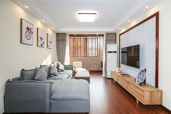 60平米公寓中式风格客厅图