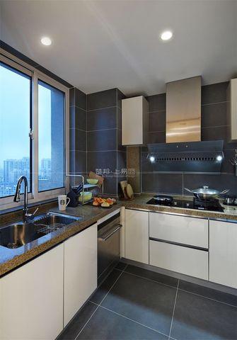 120平米三室一厅现代简约风格厨房装修案例