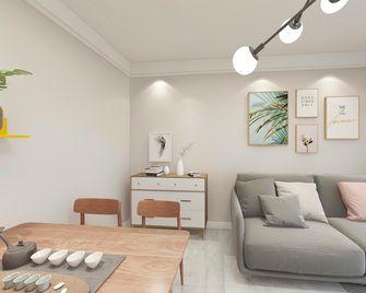 100平米宜家风格客厅图