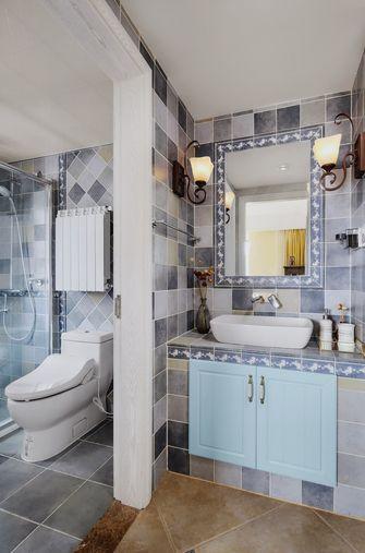 100平米三室两厅美式风格卫生间图
