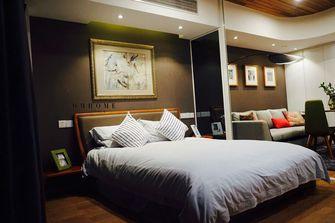 70平米一居室混搭风格卧室设计图
