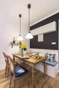 80平米北欧风格厨房装修效果图