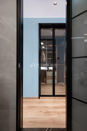 140平米四室两厅现代简约风格衣帽间欣赏图