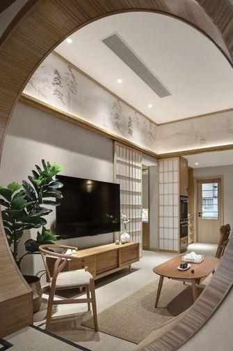 100平米三日式风格影音室设计图