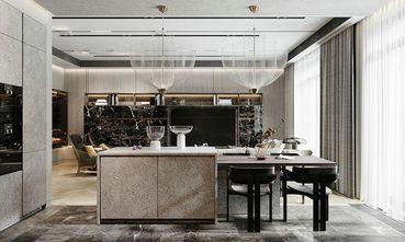 110平米三室两厅英伦风格餐厅图片
