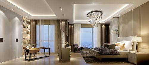 100平米新古典风格卧室图