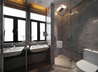 140平米三室一厅新古典风格卫生间设计图